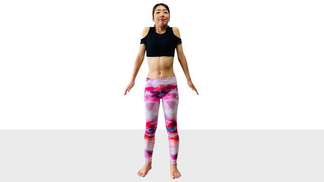 体の冷えは代謝を悪くし、太りやすい体になりやすい「首肩の冷え解消エクササイズ」