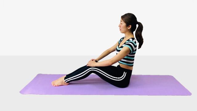 2021年!腹筋をキレイに割る鍛え方④腹筋背筋バランスよく、のV字バランス