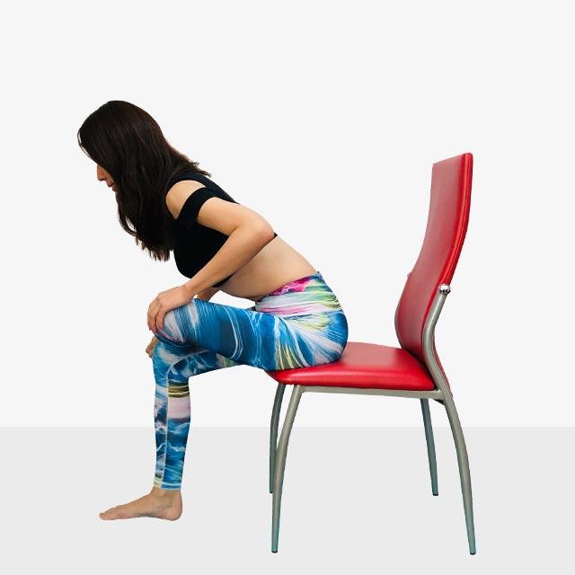 「座ってストレッチ」の手順_2