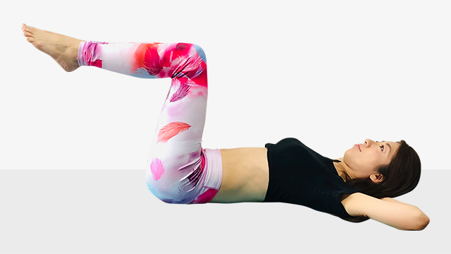 1ランク上の腹筋の鍛え方とは?腹筋エクササイズ②クランチ編