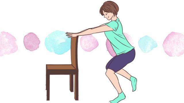 太ももに隙間を作って美脚になろう!椅子を使ったエクササイズ