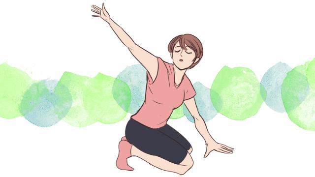 基礎代謝UP!痩せ体質を作れる「肩甲骨ローテーション」