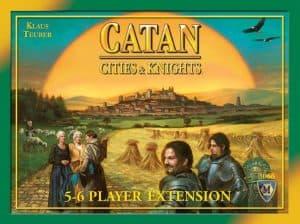 カタンの開拓者たち 拡張 都市と騎士 5-6人