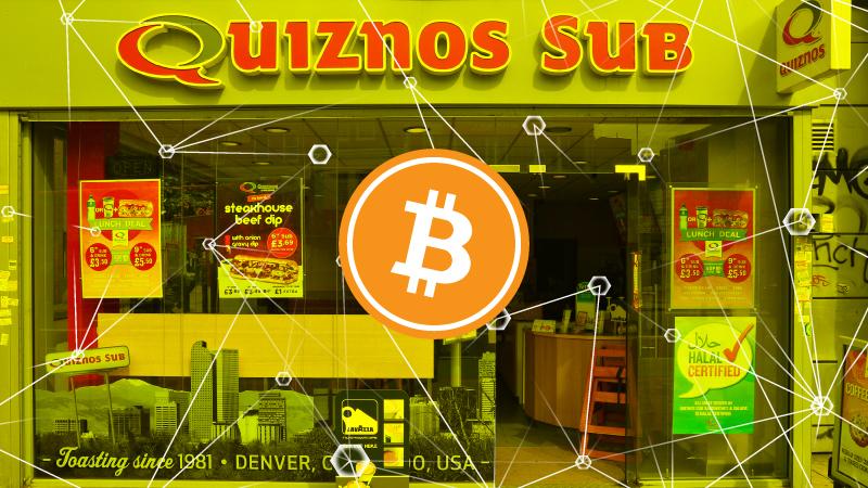 ファストフードチェーンQuiznosがビットコイン決済試験導入、Bakktと提携