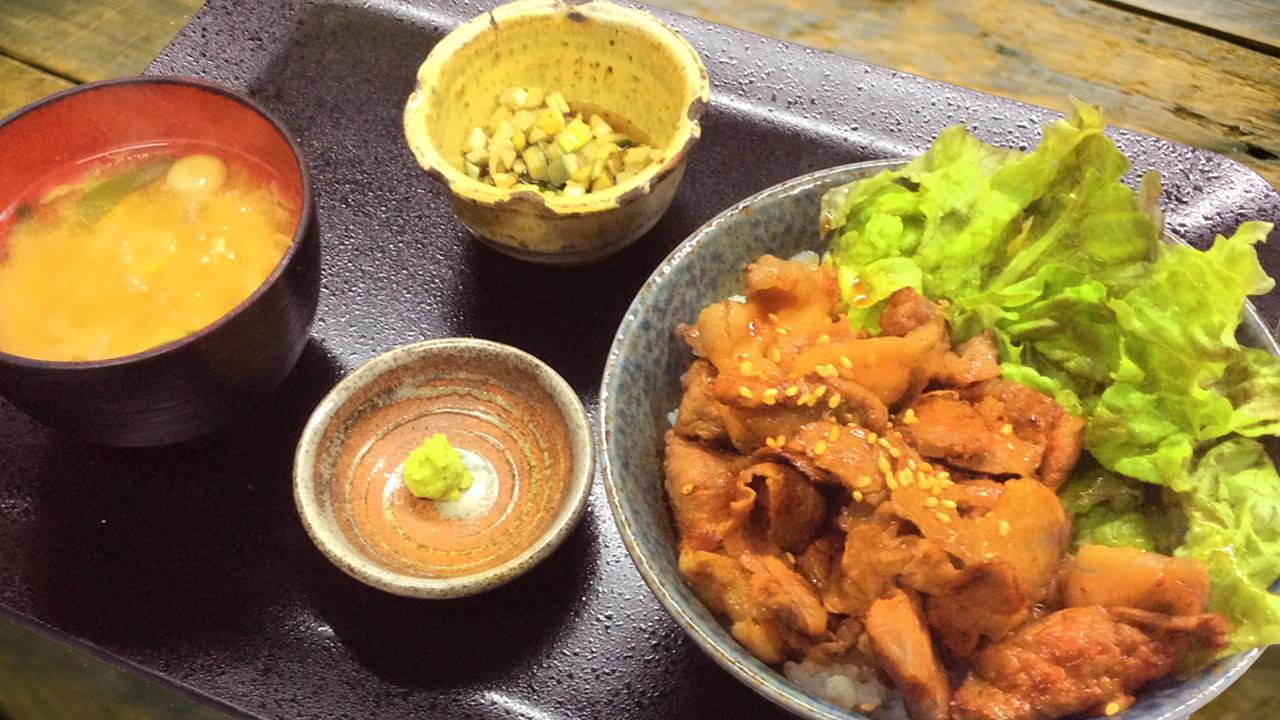 松坂牛の焼肉丼