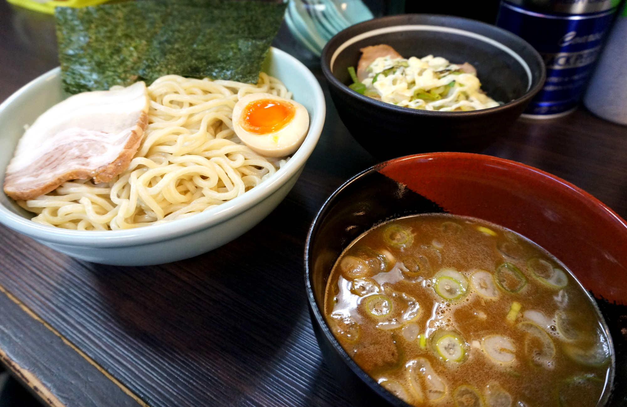 つけ麺大盛り<br>ミニチャーシュー丼セット