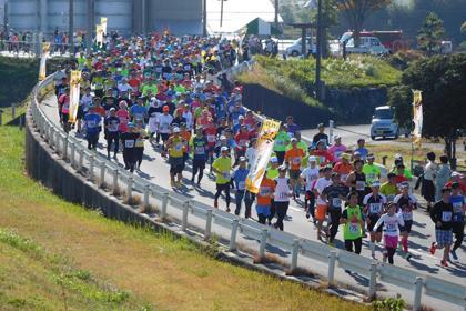 いびがわマラソン2018