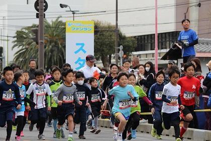 とくしまマラソン2019【ファンランの部】