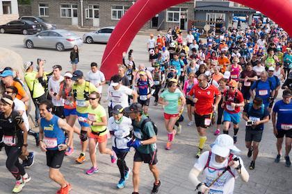 万里の長城マラソン2020