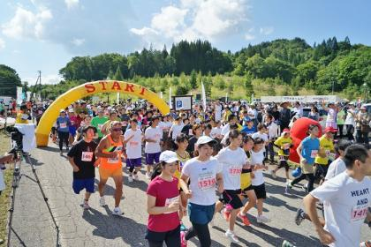 第22回山の村だいこんマラソン