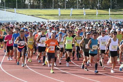 北上市2021年周年記念 いわて北上マラソン大会