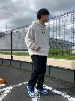 ららぽーと横浜のYoshihiroさんのLeeのAMERICAN RIDERS 101Z ストレート(ツイル)を使ったコーディネート