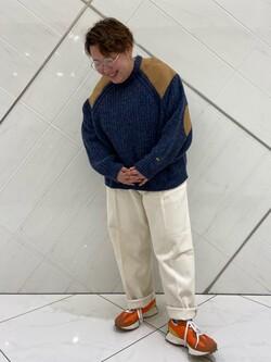 熊本COCOSA店のkazukiさんのLeeの【セットアップ対応】チェトパ トラウザーパンツを使ったコーディネート