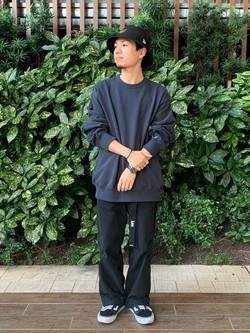 Lee 武蔵小杉店のRyoyaさんのLeeの【ユニセックス】DUNGAREES ペインターパンツを使ったコーディネート