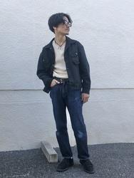 大阪店のサカモトヒロシさんのLeeのARCHIVES 1954MODEL RIDERS 101-Zを使ったコーディネート