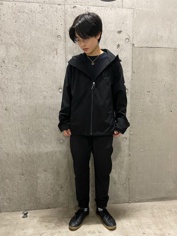 錦糸町PARCO店のEriさんのEDWINのF.L.E デルタジャケット (三層防風ニット)を使ったコーディネート
