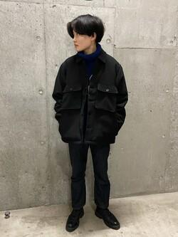 錦糸町PARCO店のEriさんのEDWINのヘリンボーン CPO ジャケットを使ったコーディネート