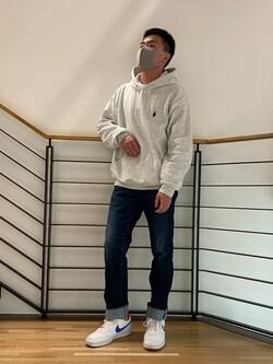 錦糸町PARCO店のKOUTAさんのEDWINの【試着対象】ジャージーズ レギュラーストレート【スタンダードモデル】を使ったコーディネート