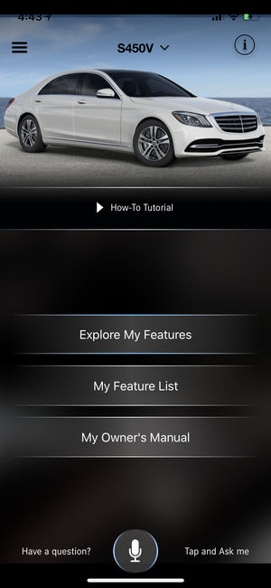 Ask Mercedes (USA) on the App Store