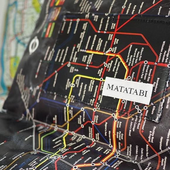 さすがのアイディア!ヒット中の紙クラッチバッグ:MATATABI(マタタビ)