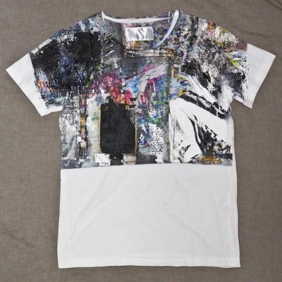 技アリのグラフィックTシャツ(私物)