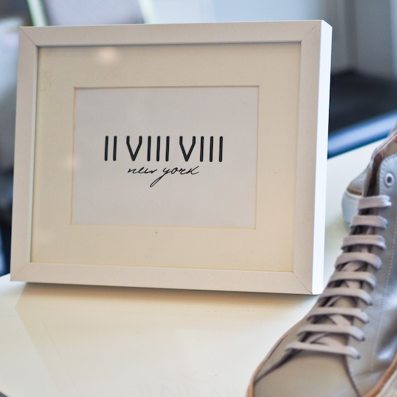 日本未入荷のストイックなモードスニーカー from NY:「II VIII VIII (No.288)」