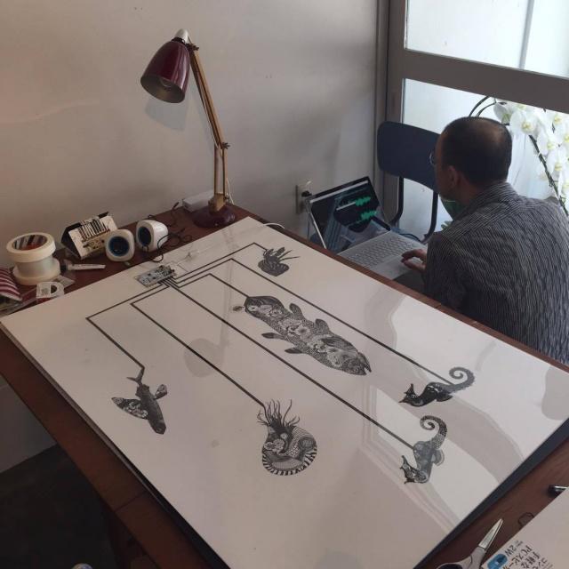 Yuta Okuda氏とのTouchBoardを使ったプロジェクト