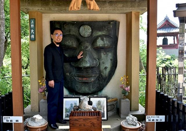 矢澤マネージャーと行く、「顔」で巡る上野公園案内