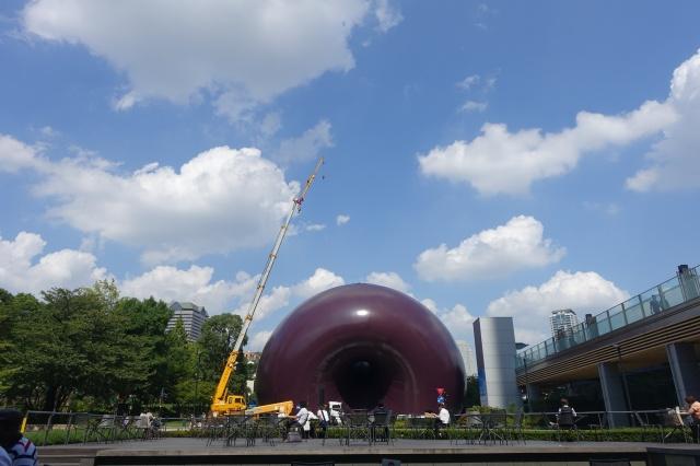 速報:アーク・ノヴァ、東京ミッドタウンで公開!