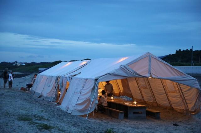 『ノルディスク』の大型テント