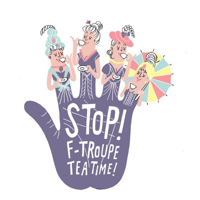"""今年最初の英国お茶会 - F-Troupe """"Trunk Show"""" & Vintage """"TEA"""" Party Vol.3"""