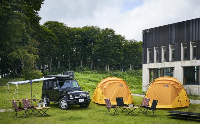 New G-Class オフロード走行体感キャンプ
