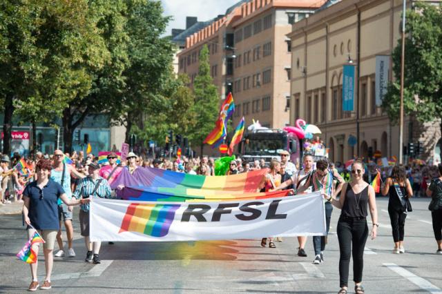 Euro pride, Stockholm pride 2018