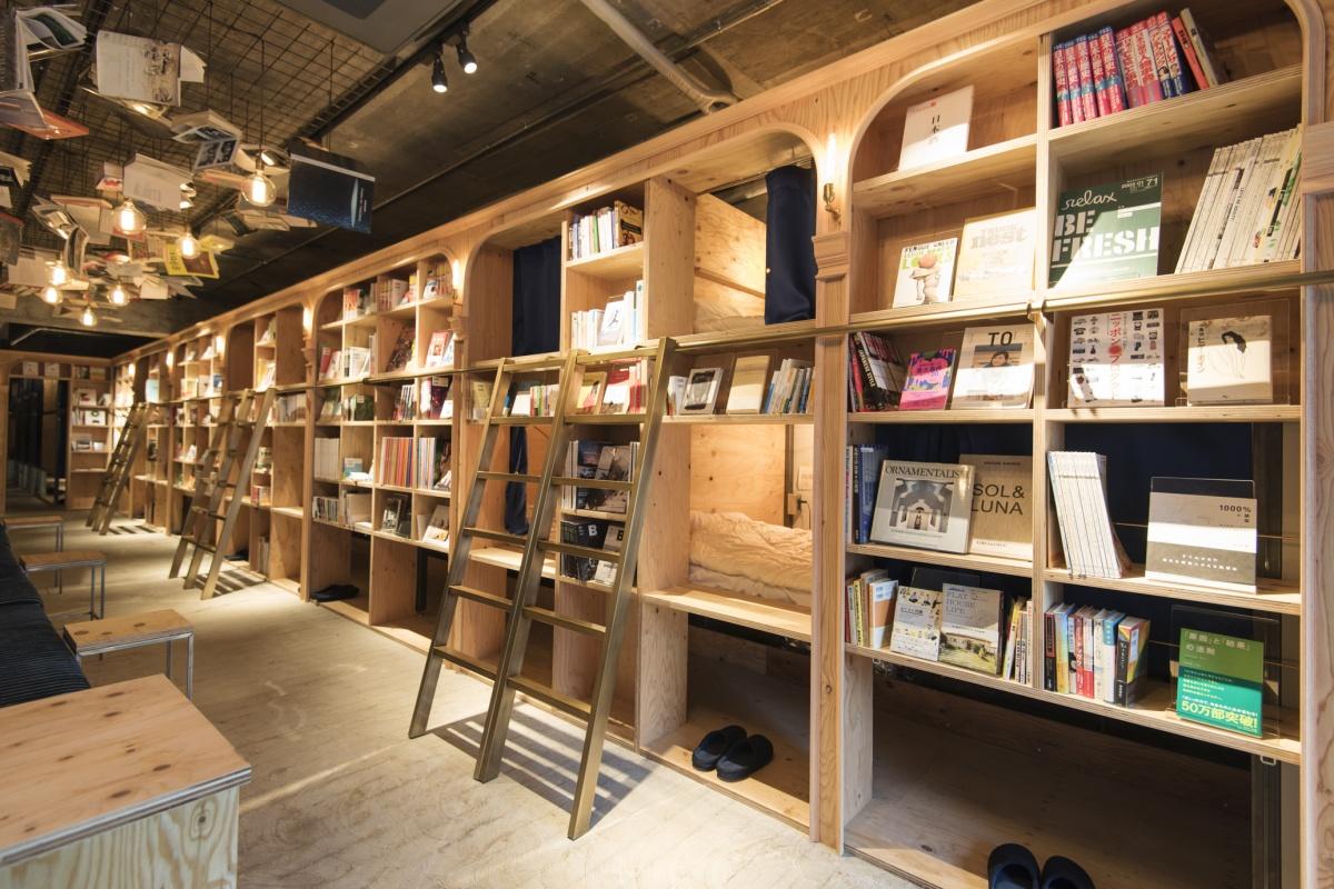 読書好きのための、泊まれる本屋。 | Tokyo Guide | Pen Online