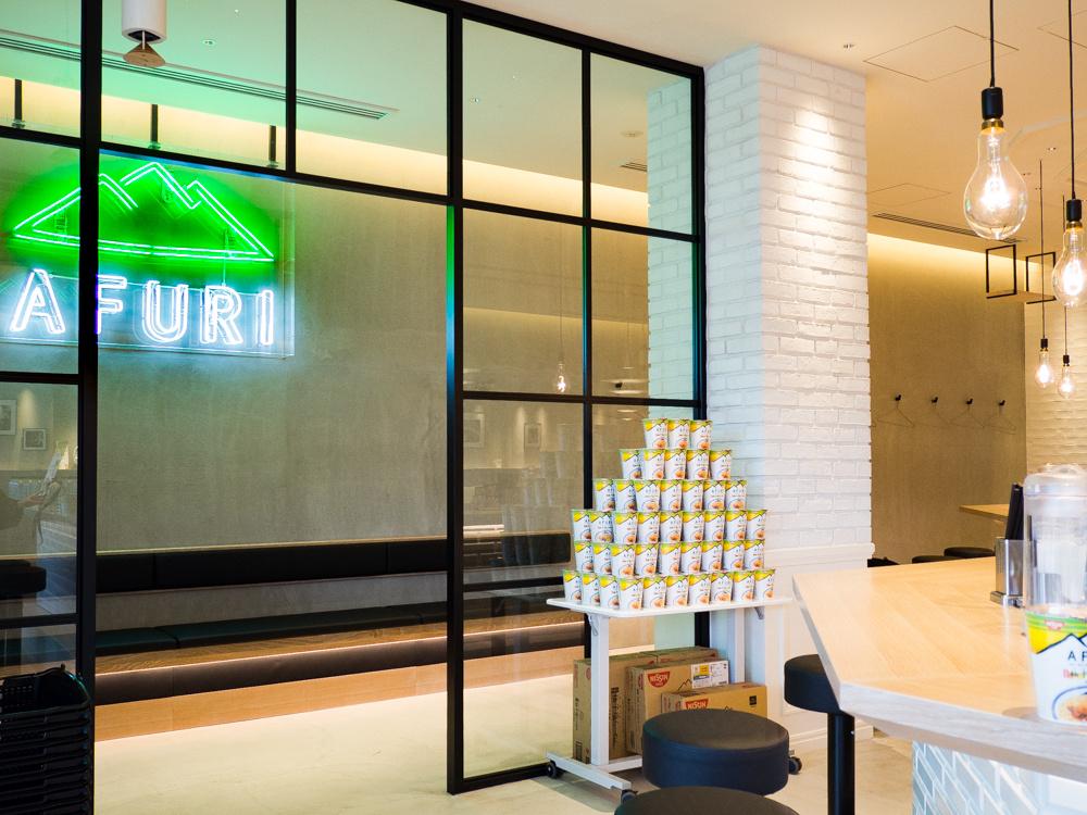 ラーメン「AFURI」のいちばん新しい店は、まるでカフェな広々&おしゃれ空間。
