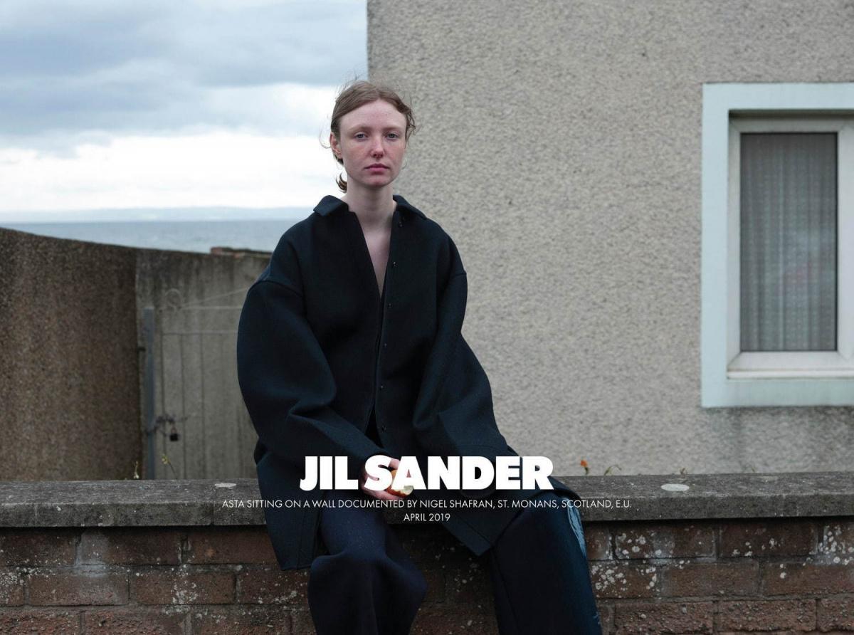 ひっさびさに心に響いたファッション広告、「ジル サンダー」