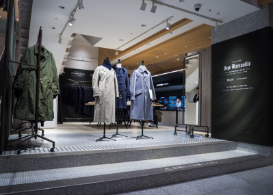 最高の大人服「サイ」が新宿にやってきた!11日(月)で終了なのでお急ぎをっ。