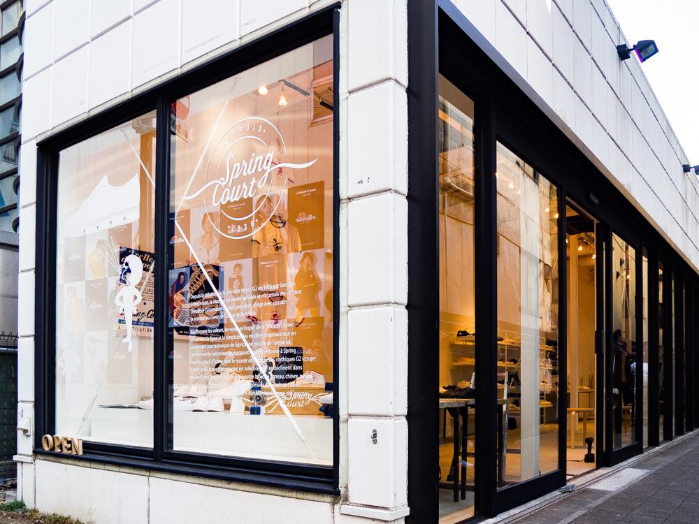 行ってきた! 「スプリングコート」日本唯一の店では、60年代ビンテージも展示中です!