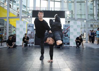 来る2020年夏に向けて『超ダイバーシティ芸術祭』がスタート! 第1弾はブレイクダンスです。