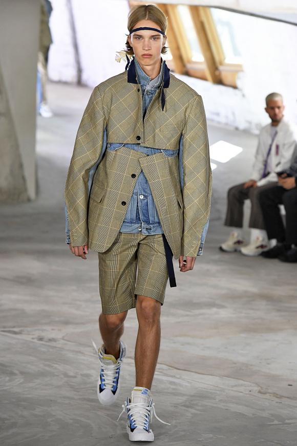 テーラードとGジャンの ハイブリッドジャケット