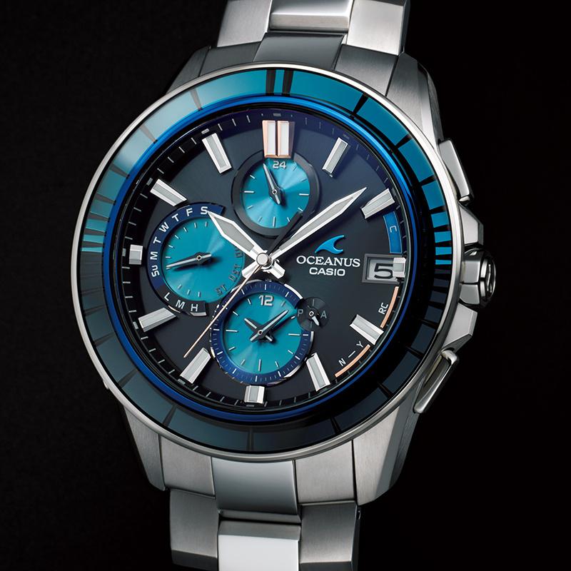オシアナス、江戸の伝統技と融合した先進の腕時計。