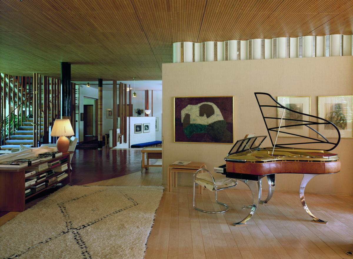 仲間とともにデザインを追求した実験の場が、住宅建築の傑作に。