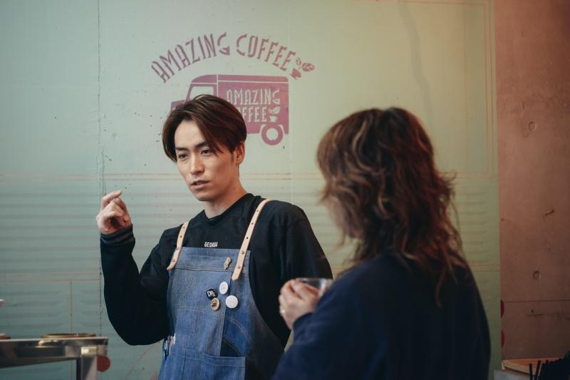 次回のmountain morningは、AMAZING COFFEEとのコラボレーション?