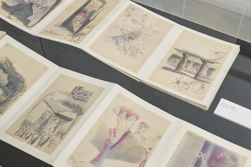 20代で描いたスケッチから、知られざる事務所の再現展示まで。