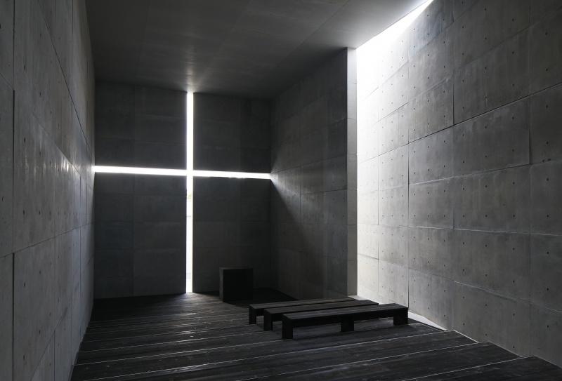 住宅プロジェクトの数々を経て、原寸大で再現された名作「光の教会」へ。
