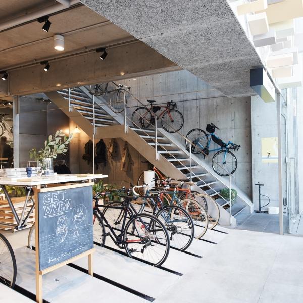 自転車を通してライフスタイルを発信する、コミュニティーを広げる基地。