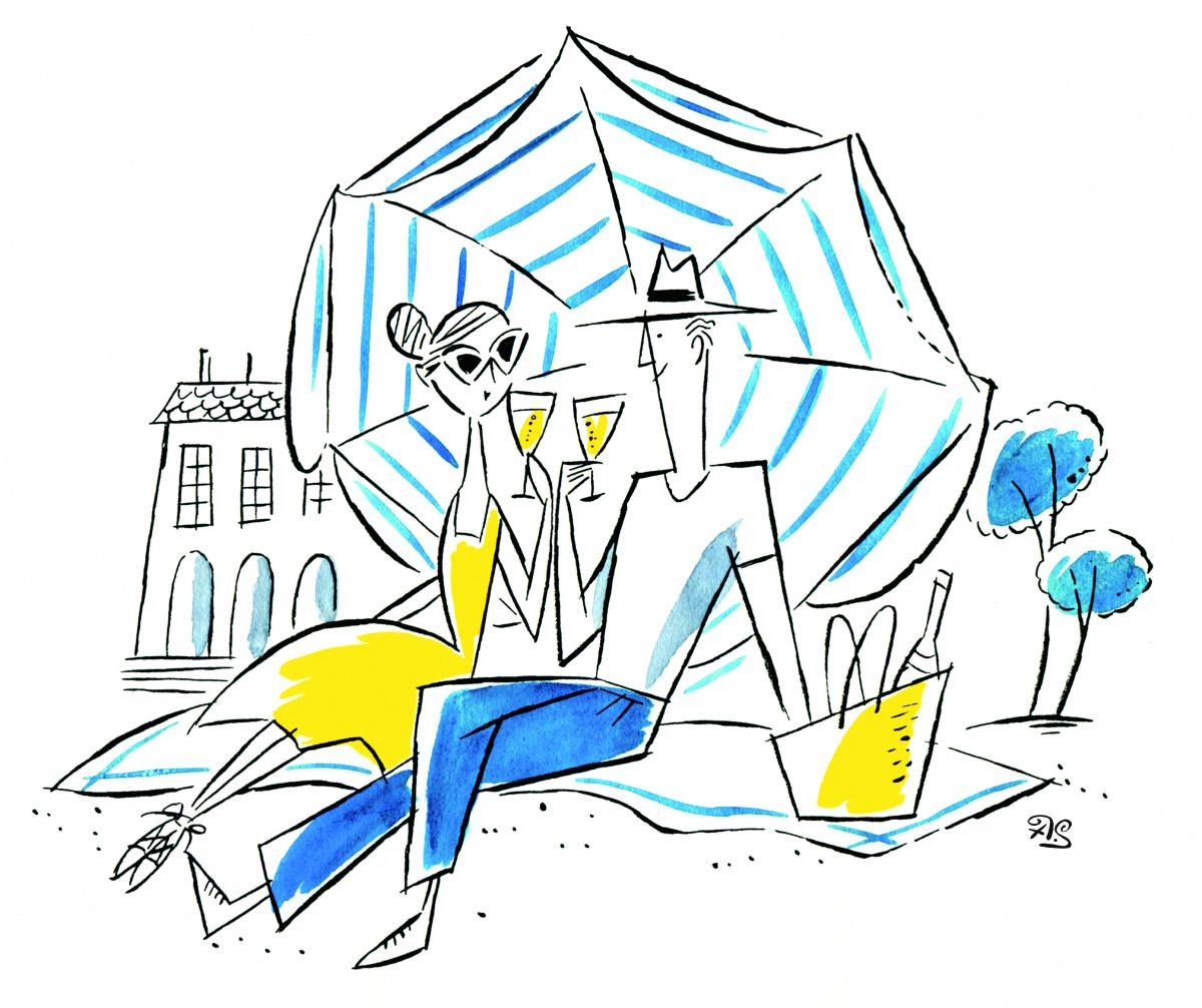 都会の初夏に映える、イラストレーター・ソリマチアキラの洒脱で大人なリゾートスタイル