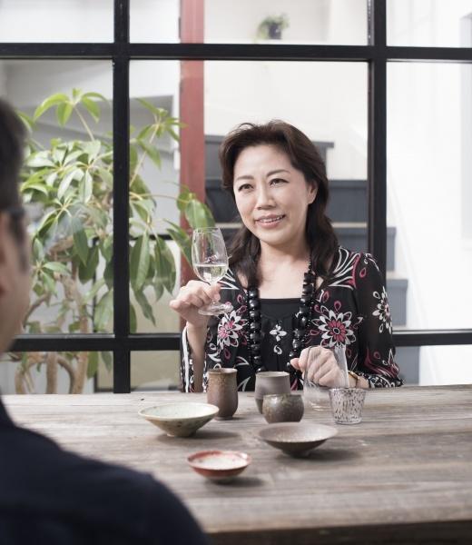 自宅での日本酒が、なによりのリラックスタイム。