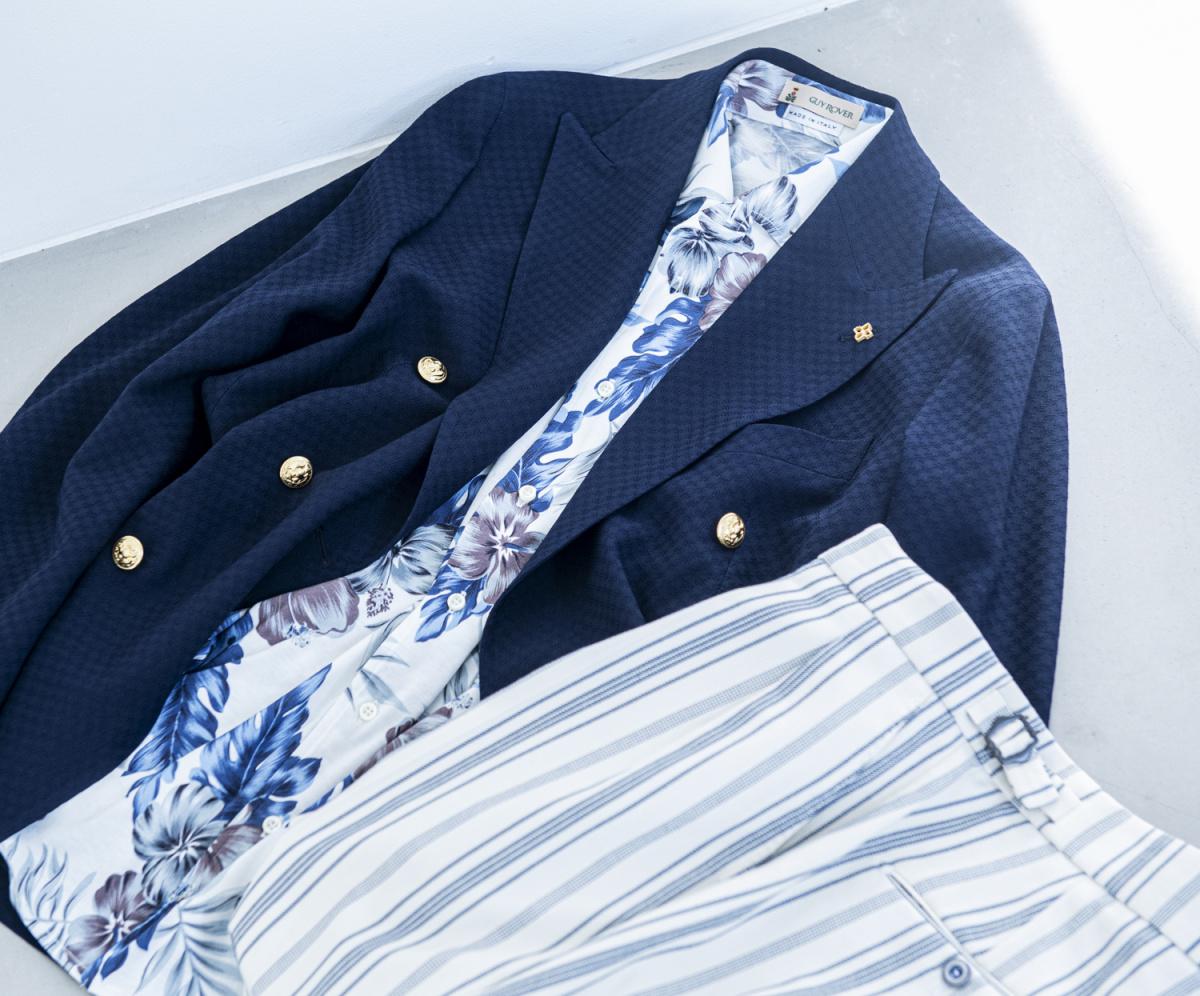 織り柄が透け、色気漂う「タリアトーレ」
