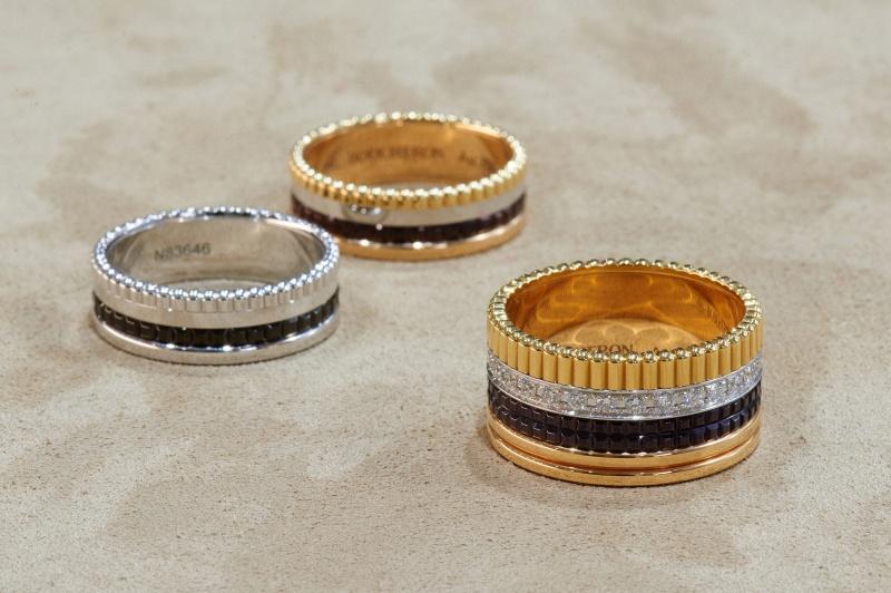 4つの装飾が織り成す永世定番リング